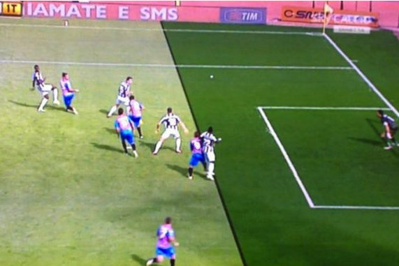 Juventus Win with Two Wrong Offside Calls
