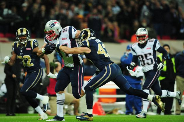 Patriots vs. Rams: St. Louis' Defense Gets Torched in Back-to-Back Weeks