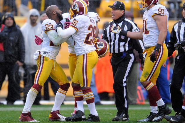 How Should NFL Respond to DeAngelo Hall's Embarrassing Ejection?