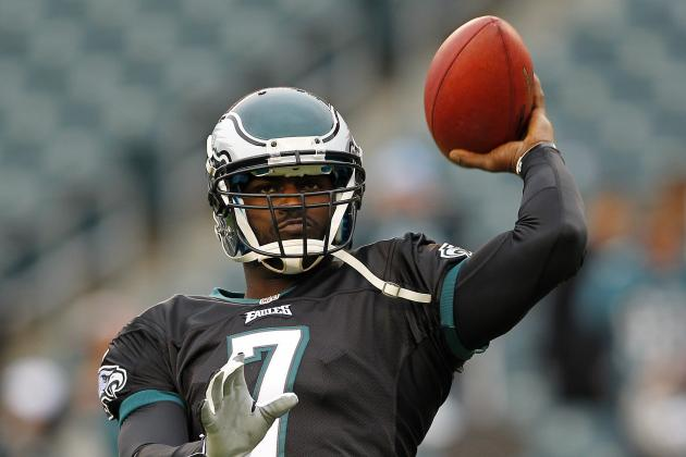 Michael Vick vs. Nick Foles: Where Does Eagles' QB Situation Stand After Week 8?