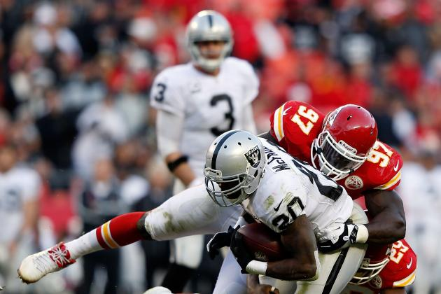 Oakland Raiders Recap: Raiders Scalp Chiefs for First Division Win in 2012