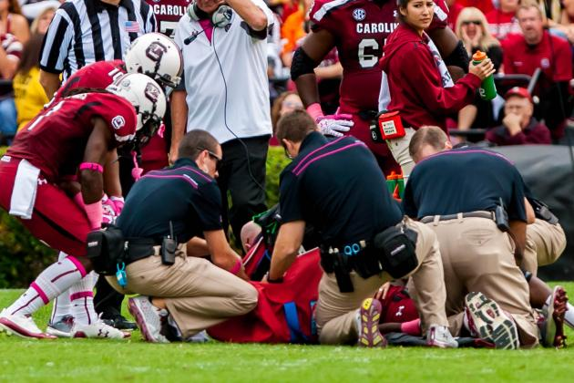 Marcus Lattimore Injury: Ramifications for Treatment and Return to Football
