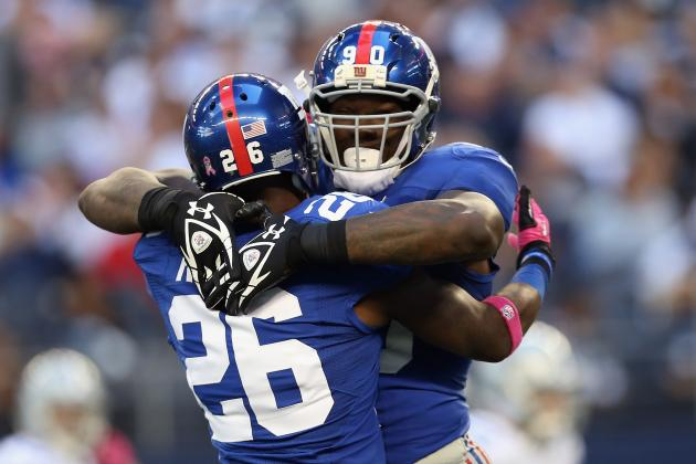 New York Giants Hold off Tony Romo and Dallas Cowboys for 29-24 Win in Thriller