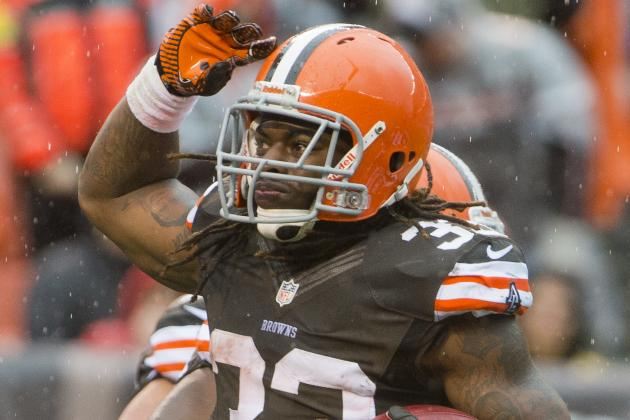 Trent Richardson Earns Jim Brown Stamp of Approval
