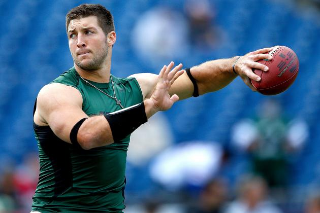 Tim Tebow: Jets' Anemic Defense Makes QB Situation Irrelevant