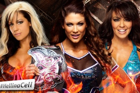 WWE Hell in a Cell 2012: Eve Defeats Kaitlyn and Layla to Retain Divas Title