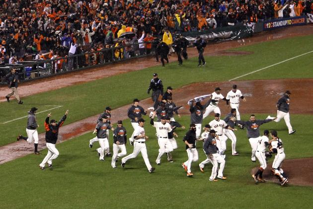 San Francisco Giants Feature Unexpected Heroes in 2012 World Series Title Run