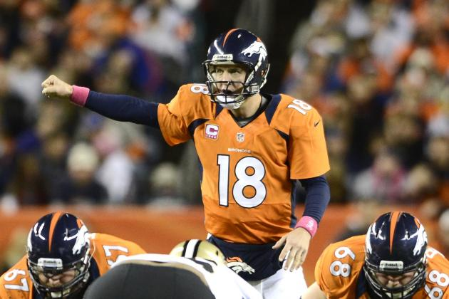 Saints vs. Broncos: Peyton Manning Throws 3 TDs in 34-14 Blowout