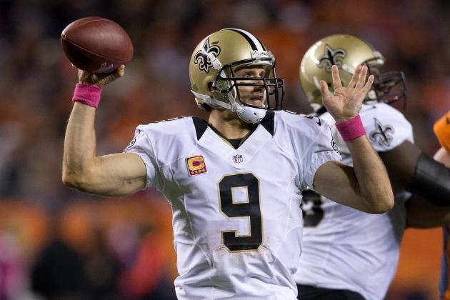 New Orleans Saints: Is Drew Brees Just a Stat Padder in 2012?