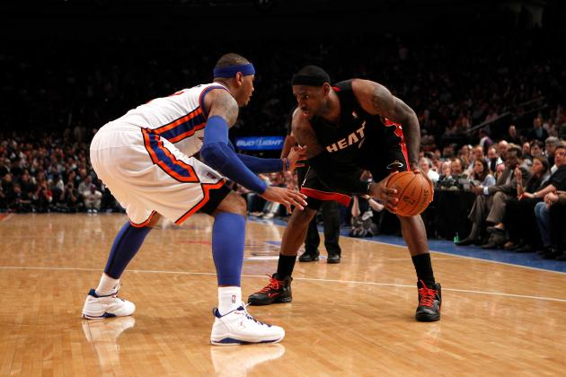 Will Carmelo Anthony Always Live in LeBron's Shadow?