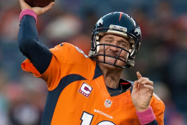 Peyton Manning, Broncos Defense Stuff Brees, Saints for AFC West Lead