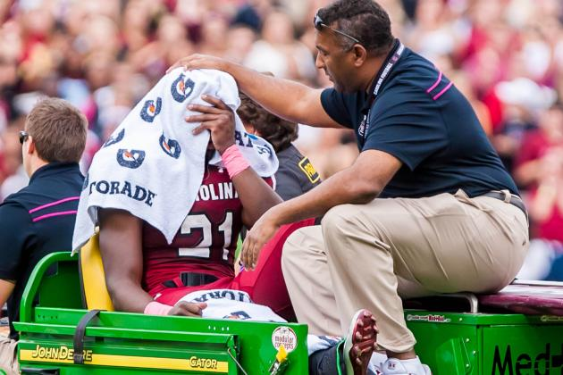 Marcus Lattimore: Injury to Star RB Will Ruin South Carolina's SEC Title Hopes