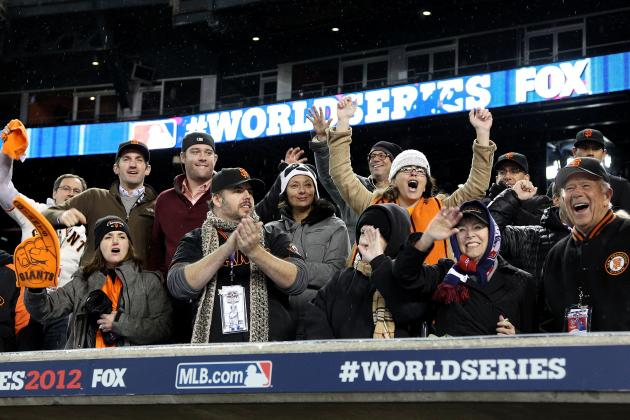 SF Giants Parade Route 2012: Where World Series Champs Will Celebrate Title