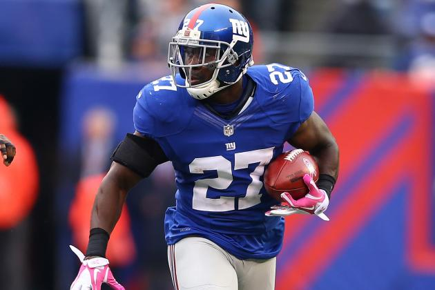 Giants' Stevie Brown Makes Most of Starting Role with Two Interceptions