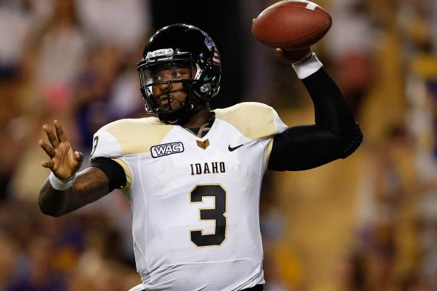Idaho Starting QB Blackman Booted
