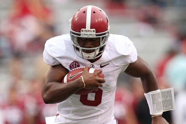 When Called Upon, Alabama Backup QB Blake Sims Plays with Confidence