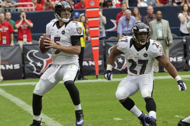 Browns Game Is Perfect Time for Ravens' Offense to Bounce Back