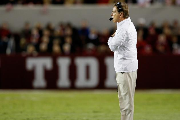 Saban on LSU Game: 'Kind of Like the Playoffs'