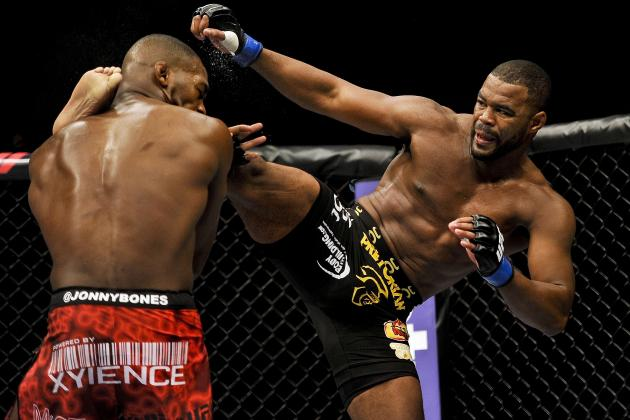 UFC 157 Fight Card: How UFC Matchmaking Is Failing Former Champion Rashad Evans