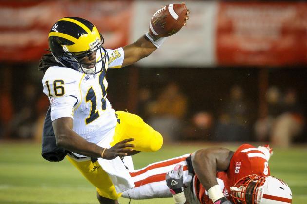 Michigan Football Goes Nowhere Without Denard Robinson