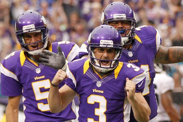 Vikings' Kluwe, Loeffler Not Quite Birds of a Feather
