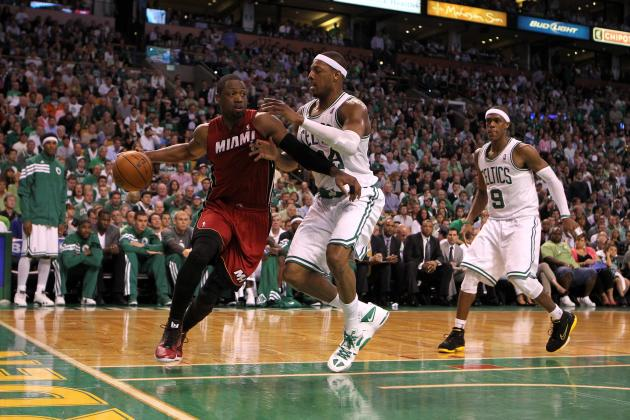 Dwyane Wade Said Some Really Nice Things About the Boston Celtics