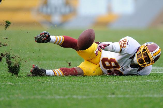 Redskins Have Few Playmakers but Plenty of Dropped Passes in Loss to Steelers
