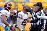 DeAngelo Hall Ejected in Ref Confrontation
