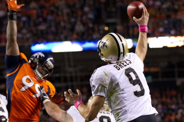 New Orleans Saints Drew Brees Keeps Streak Alive; Moves Up Another Record