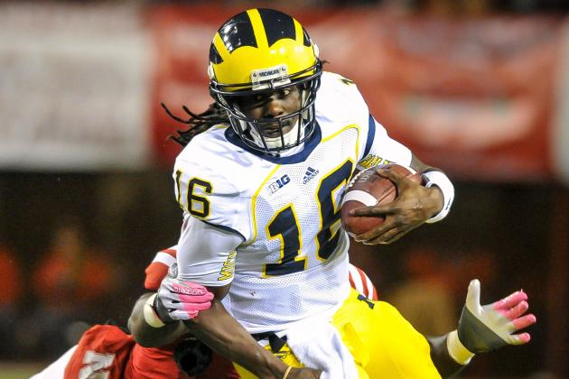 Denard Robinson Should Start vs. Minnesota