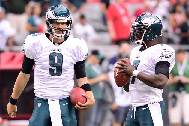 NFL Rumors: Eagles Considering Benching Michael Vick for Nick Foles