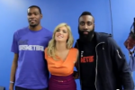 Durant, Harden Join Kate Upton in New Video