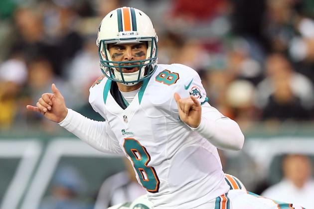 Moore Steps Up When Tannehill Goes Down