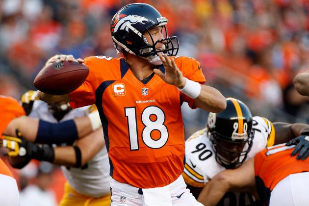 Fantasy Football: Peyton Manning Headlines 'AFC Random Thoughts' for Week 8