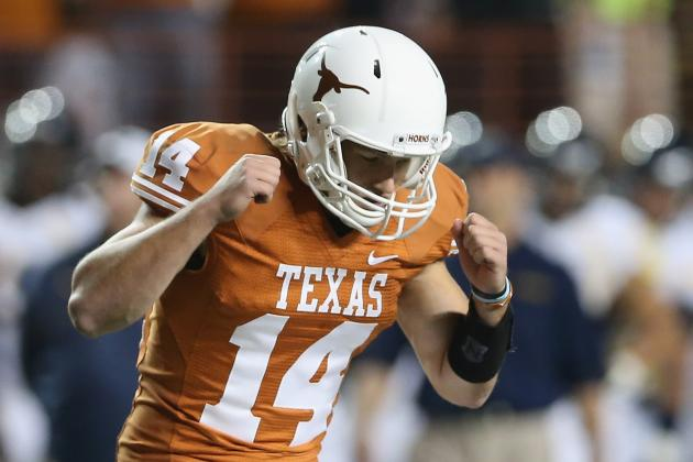 Longhorns Will Stay with David Ash at QB Against Texas Tech