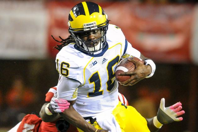 Hoke Expects Denard Robinson to Play