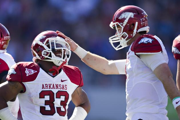 Not a Typical Day for Arkansas Quarterback