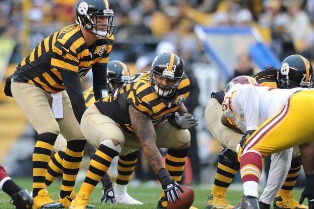 Offensive Line Overpowers Redskins