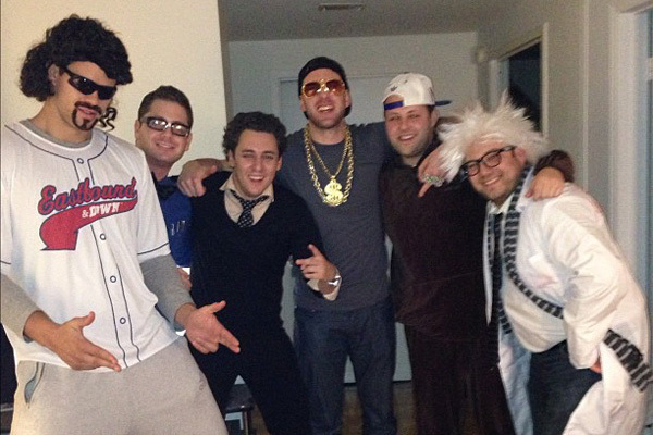 Kris Humphries Went as Kenny Powers for Halloween [PHOTO]