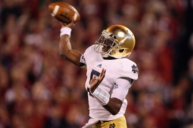 Notre Dame QB Golson Coming of Age?