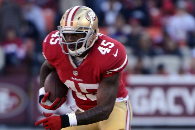Jacobs Sits as 49ers Feed 'Hot Hand'