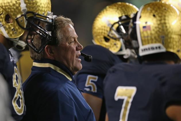 Brian Kelly Should Not Be Front-Runner for College Football Coach of the Year