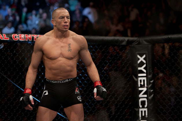 GSP Growing Tired of Anderson Silva Super Fight Talk