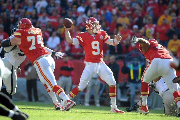 Chiefs Quarterback Job Still Belongs to Brady Quinn If He's Healthy