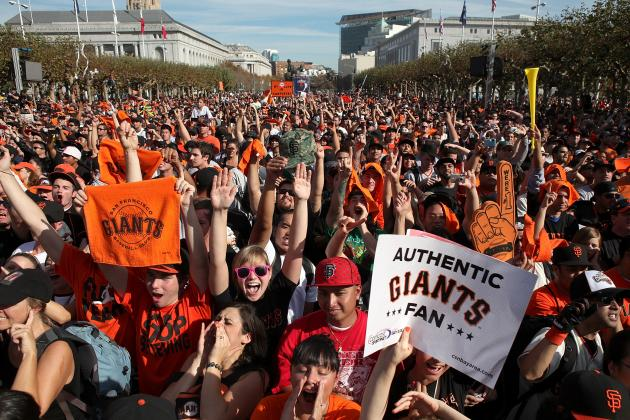 SF Giants Parade Route 2012: Where to Watch Celebration for World Series Champs