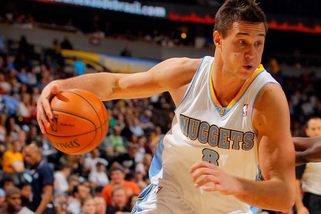 Denver Nuggets SF Danilo Gallinari Has Ankle Injury, Is Day-to-Day