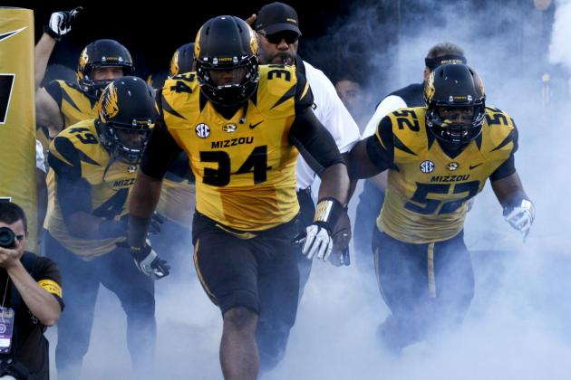 Richardson Sets Tone in Mizzou Win