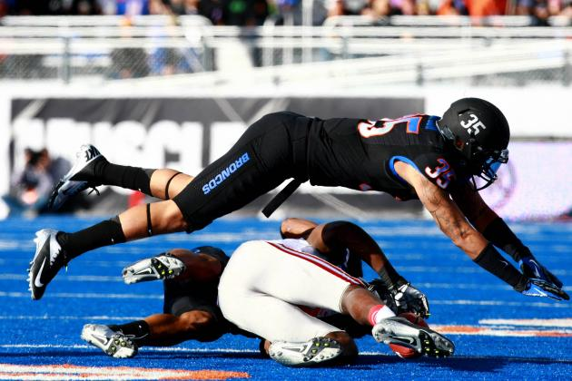 Boise Freshman Safety Darian Thompson Makes Most of Opportunities