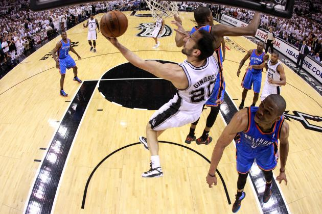 Manu Ginobili's Back Problems an Ominous Sign for Aging San Antonio Spurs