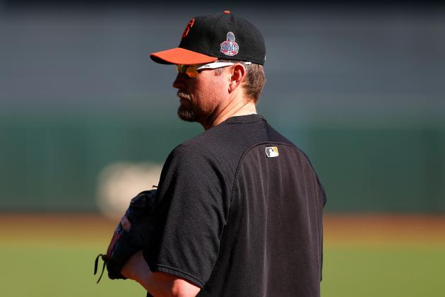 The Giants to Decline Their Option on Aubrey Huff
